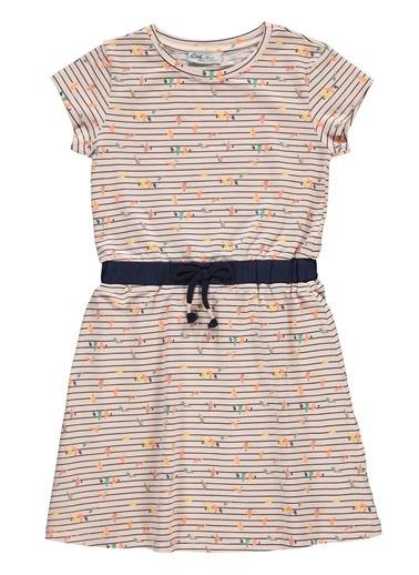 Cvl Cvl Kiz Çocuk Elbise 6-9 Yaş Somon Cvl Kiz Çocuk Elbise 6-9 Yaş Somon Somon